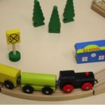 All Aboard to learning skills using a train set